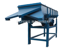 Ash calcium powder linear vibrating screen