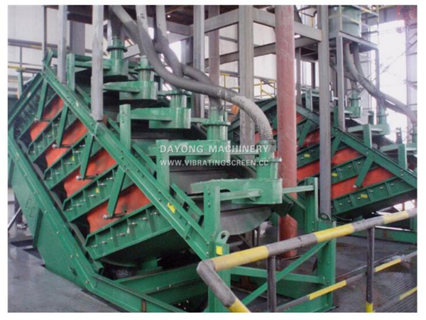 High frequency stack sieve-4