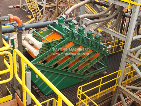 High frequency stack sieve-5